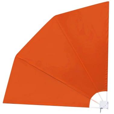 vidaXL Faltbare Seitenmarkise Terracotta-Rot 210×210 cm[2/6]