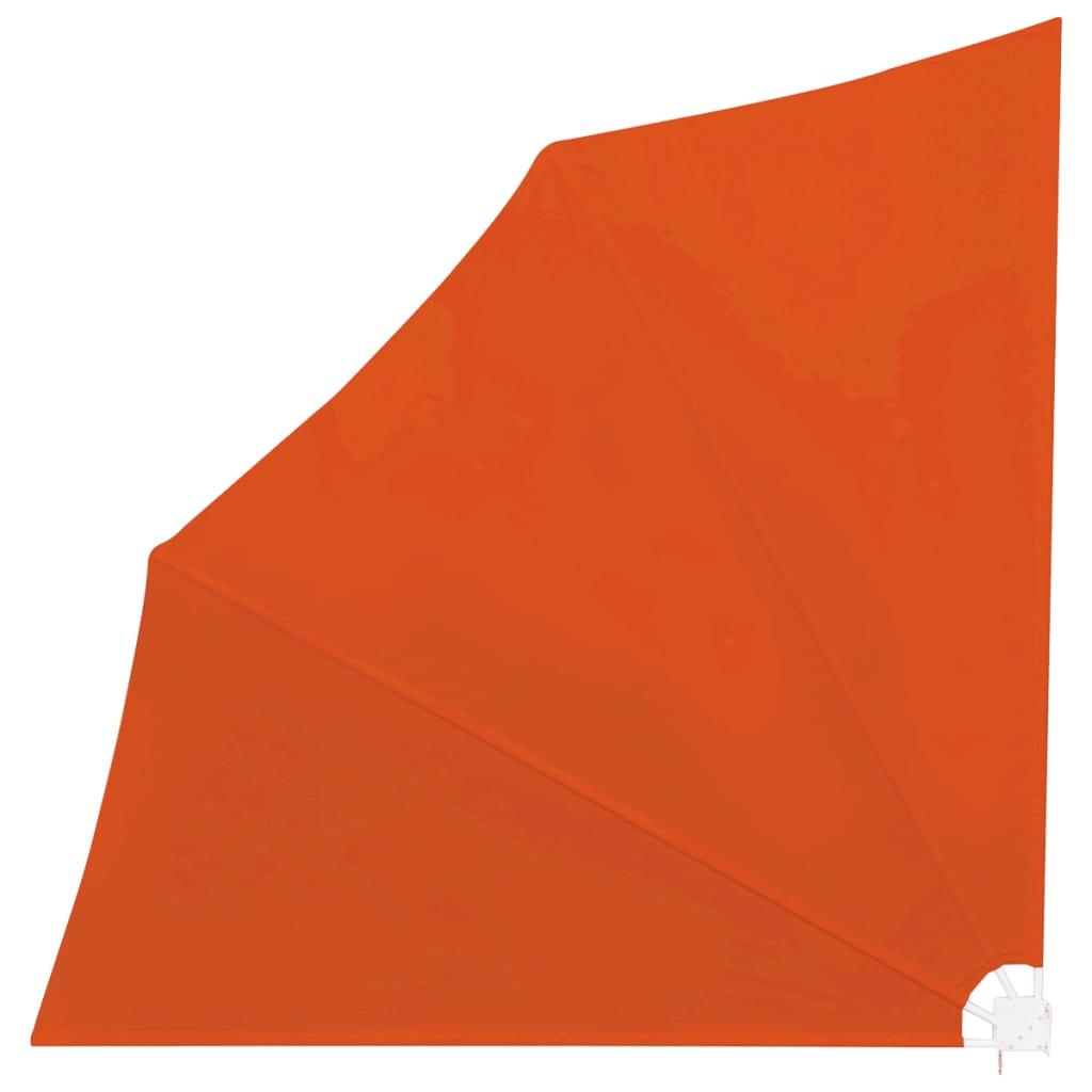 vidaXL Windscherm inklapbaar voor terras 140 x 140 cm terracotta