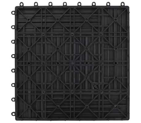 Pilkos Terasinės Plytelės, 1 m2, 11 vnt., 30 x 30 cm, WPC[6/6]