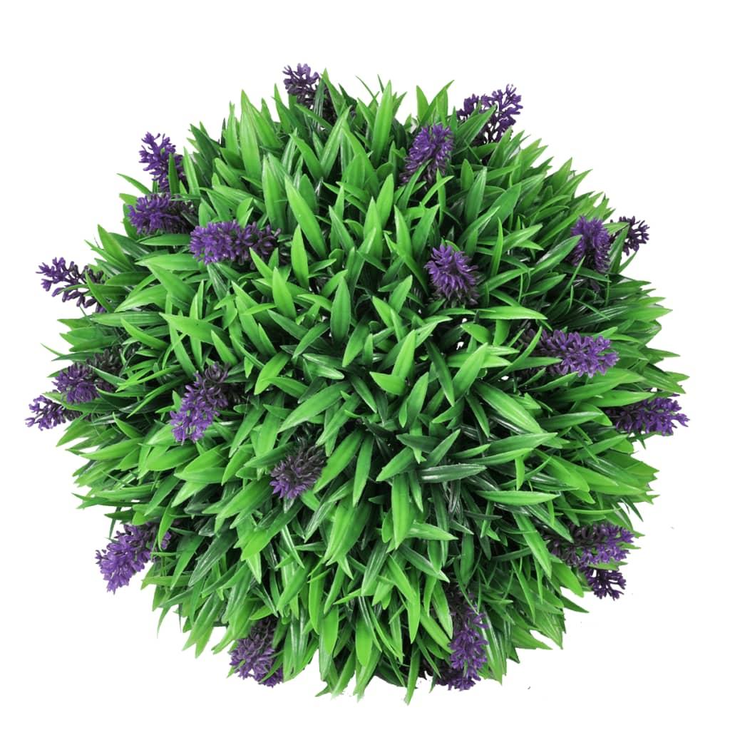 Sfera Sintetica artificiale di Bosso Verdecor Ø30cm Verdemax per giardino vaso