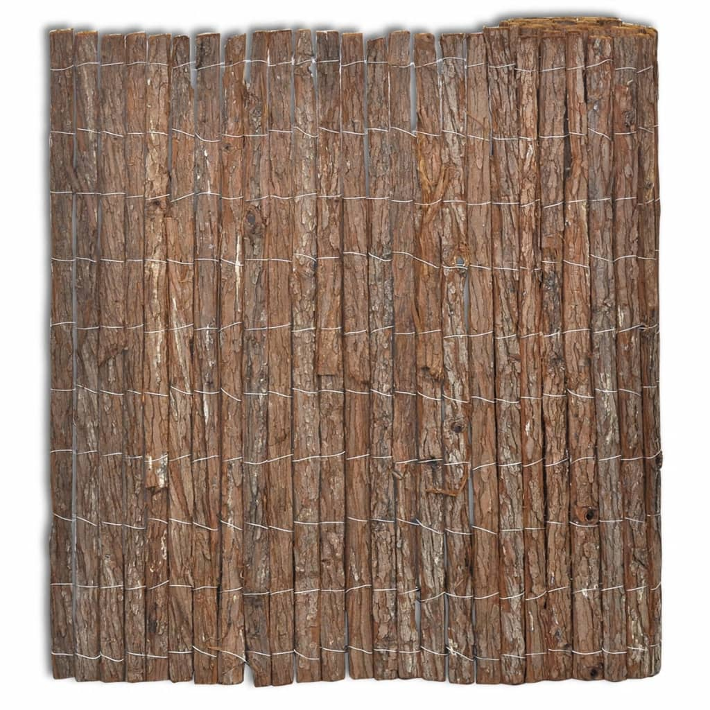 vidaXL Φράχτης 400 x 100 εκ. από Φλοιό Δέντρου