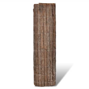 vidaXL Clôture en écorce 400 x 200 cm[2/5]