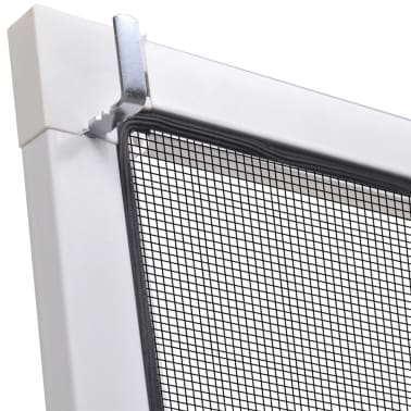 "White Insect Screen for Windows 51.2""x59""[6/7]"