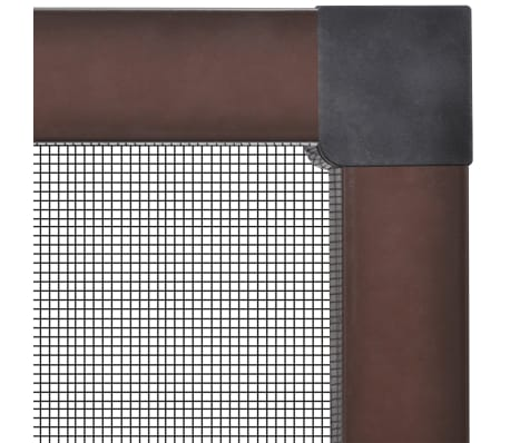 "Brown Insect Screen for Windows 47.2""x55.1""[3/7]"