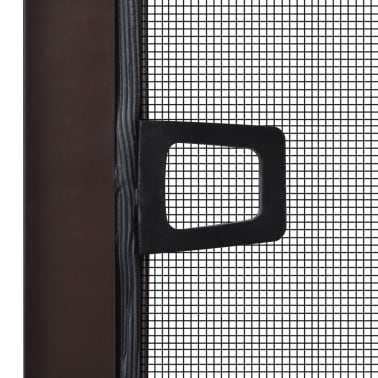 "Brown Insect Screen for Windows 47.2""x55.1""[4/7]"
