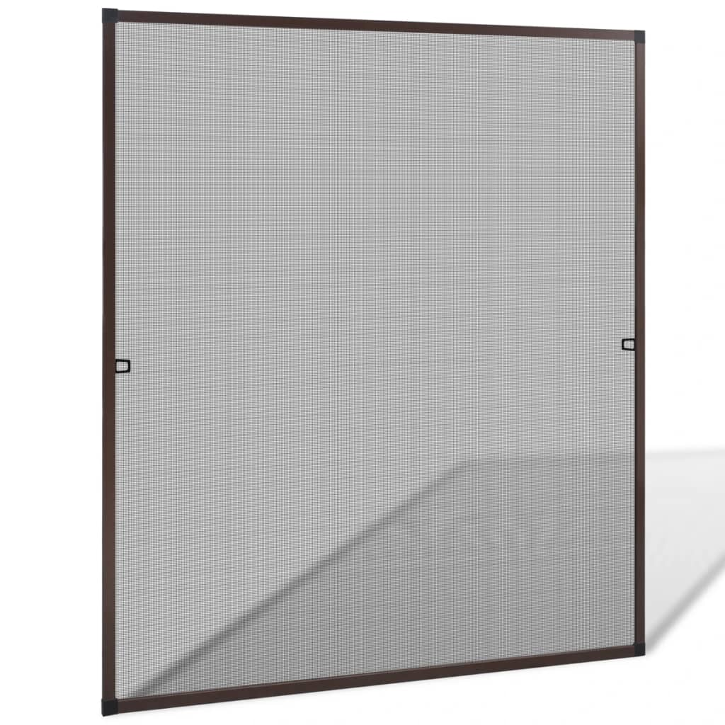 99141562 Insektengitter für Fenster 130 x 150 cm braun