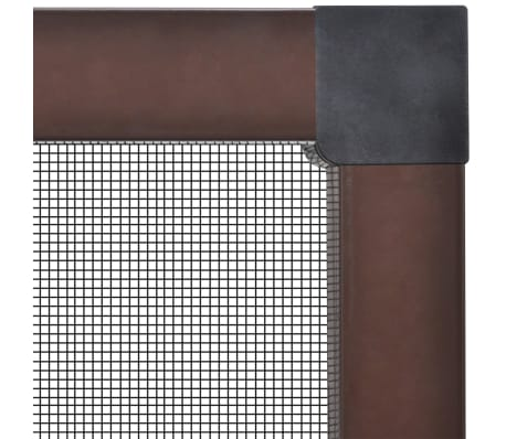 "Brown Insect Screen for Windows 51.2""x59""[3/7]"