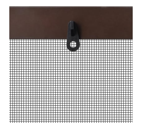 "Brown Insect Screen for Windows 51.2""x59""[5/7]"