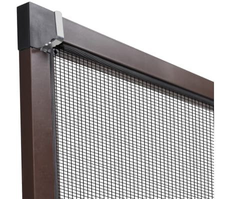 "Brown Insect Screen for Windows 51.2""x59""[6/7]"