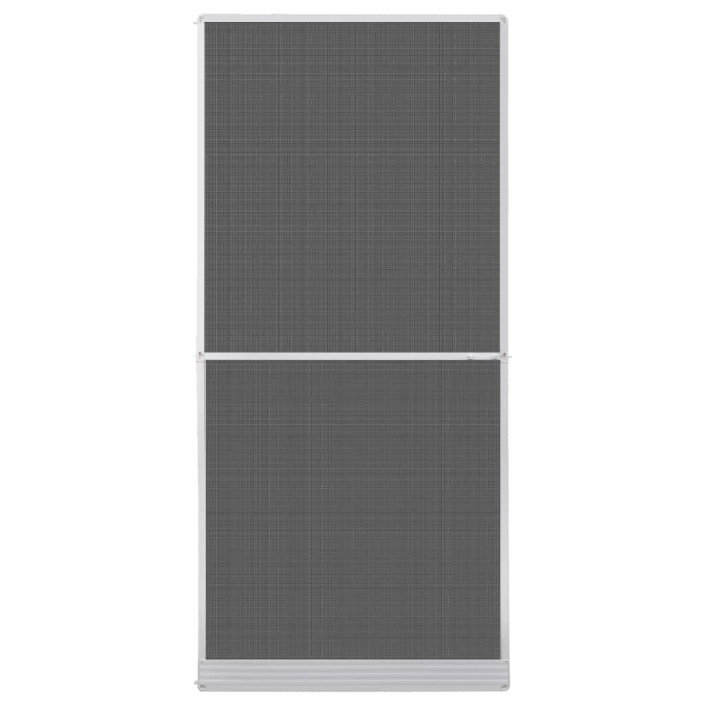 vidaXL Hordeur met scharnieren wit 100 x 215 cm