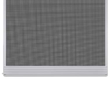 Bela krilna mreža proti insektom za vrata 120 x 240 cm[3/8]