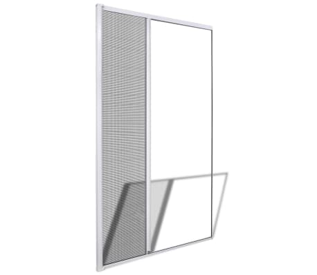 "White Sliding Insect Screen for Doors 47.2""x84.6""[2/9]"