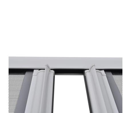 insektenschutz zum schieben f r doppelt ren 215 x 215 cm wei im vidaxl trendshop. Black Bedroom Furniture Sets. Home Design Ideas