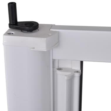Acheter moustiquaire coulissante blanche pour porte fen tre 215 x 215 cm pas cher for Porte fenetre 240 x 215