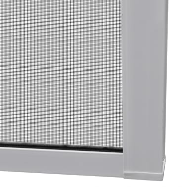 "White Sliding Insect Screen for Double Doors 84.6""x84.6""[8/11]"