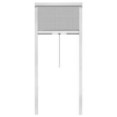 "White Roll Down Insect Screen for Windows 23.6""x59""[2/6]"
