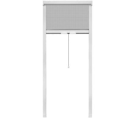 "White Roll Down Insect Screen for Windows 31.5""x66.9""[2/6]"