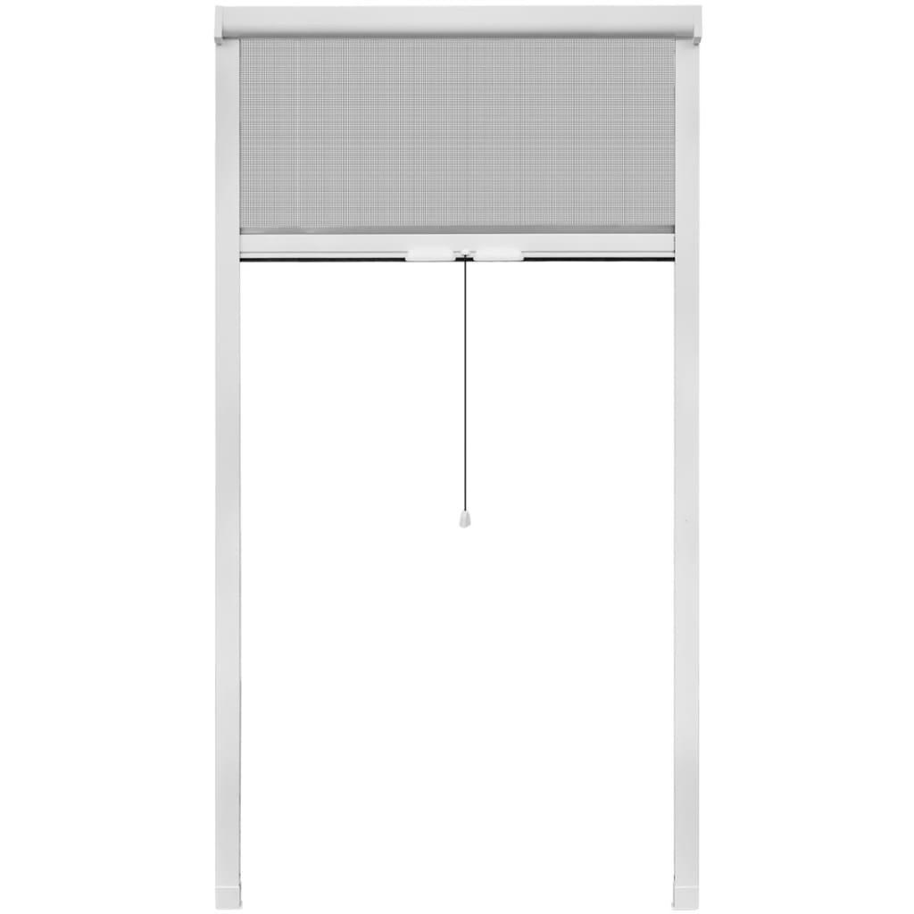 Afbeelding van vidaXL Rolhor voor ramen wit 100 x 170 cm