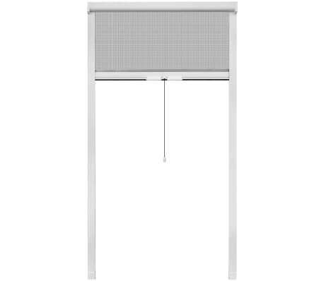 "White Roll Down Insect Screen for Windows 39.4""x66.9""[2/6]"