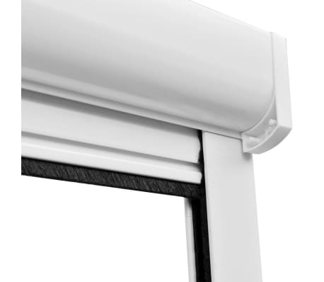 "White Roll Down Insect Screen for Windows 39.4""x66.9""[6/6]"