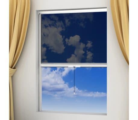 acheter moustiquaire enroulable blanche pour fen tre 100 x 170 cm pas cher. Black Bedroom Furniture Sets. Home Design Ideas