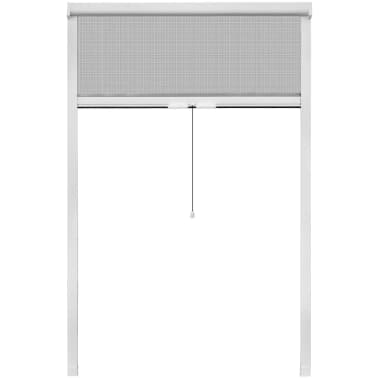"White Roll Down Insect Screen for Windows 47.2""x66.9""[2/6]"