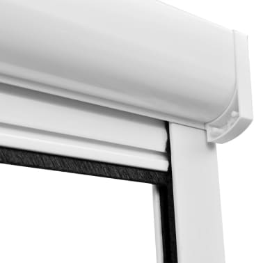 "White Roll Down Insect Screen for Windows 47.2""x66.9""[6/6]"