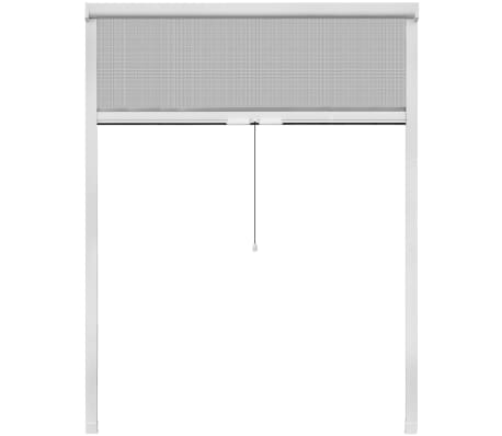"""White Roll Down Insect Screen for Windows 55.1""""x66.9"""""""