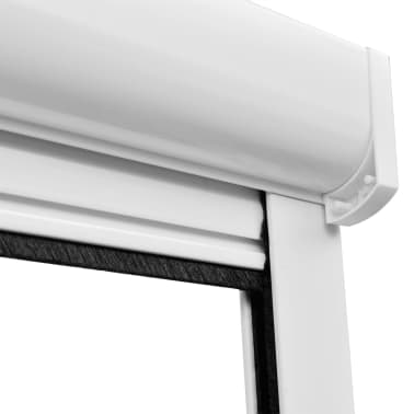 "White Roll Down Insect Screen for Windows 55.1""x66.9""[6/6]"