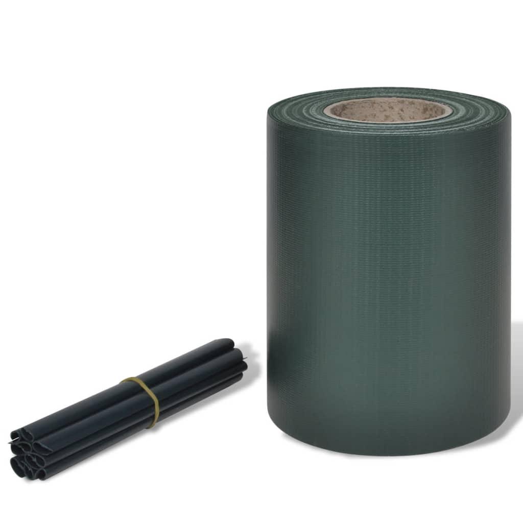 Περίφραξη Πλεκτή σε Ρολό Πράσινη 70 x 0,19 μ. από PVC