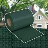 vidaXL zöld kerti PVC árnyékoló kerítés 70 x 0,19 m