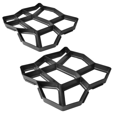 "Pavement Mold for the Garden 16.5""x16.5""x1.6"" Set of 2[1/5]"