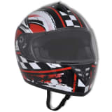 Casque intégral de moto taille S design racing
