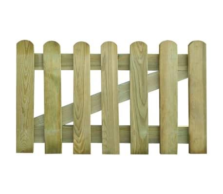vidaXL Furtka ogrodowa, 100 x 60 cm, drewno FSC[1/2]