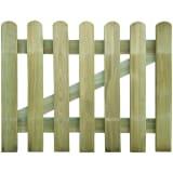 vidaXL Garden Gate 100x80 cm FSC Wood