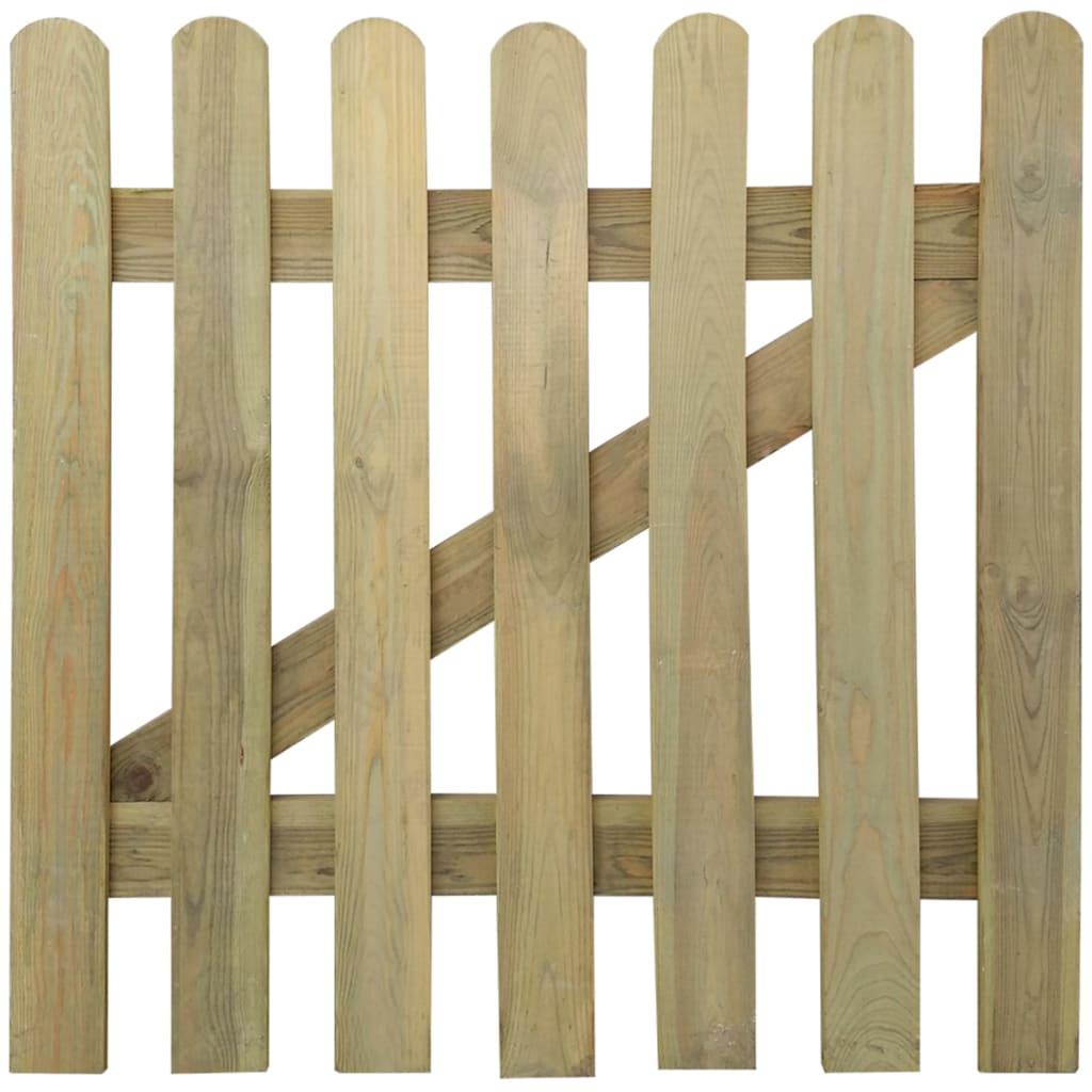 Dřevěná zahradní branka 100 x 100 cm