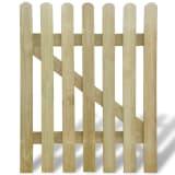 vidaXL Sodo vartai, 100x120 cm, FSC mediena