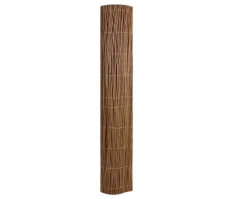 "Garden Willow Fence 9' 10"" x 3' 3""[2/5]"