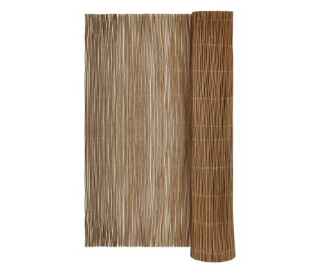 "Garden Willow Fence 13' 1"" x 6' 6""[1/5]"