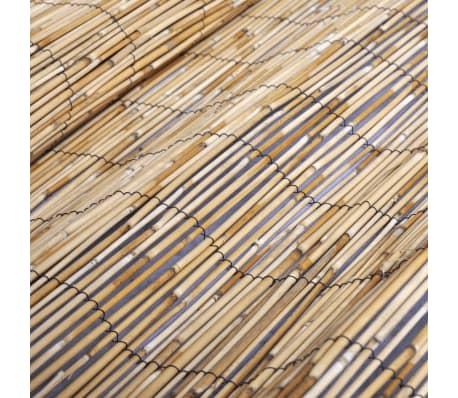 vidaXL Clôture de jardin en roseau 500 x 200 cm[5/5]