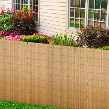 vidaXL Clôture de jardin en roseau 500 x 200 cm[2/5]