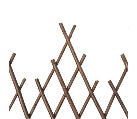 vidaXL Clôture en treillis de saule 5 pcs 170x55 cm[5/5]