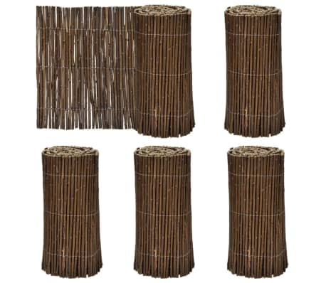"Set of 5 Lawn Willow Divider 79"" x 11.8""[1/4]"