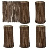 "Set of 5 Lawn Willow Divider 79"" x 11.8"""