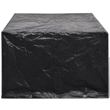 Sodo baldų uždangalų kompl., 4 žmonėms, polirat., 8 kilpelės, 113x113cm[2/5]