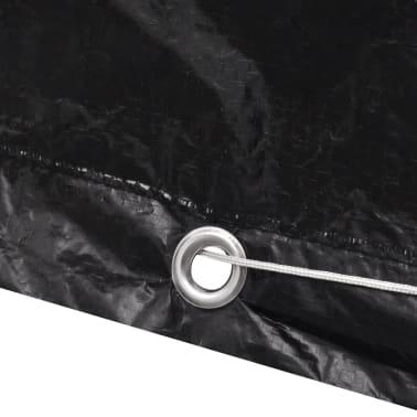 Sodo baldų uždangalų kompl., 4 žmonėms, polirat., 8 kilpelės, 113x113cm[3/5]