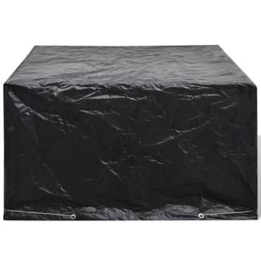 Sodo baldų uždangalų kompl., 6 žmon., polirat., 8 kilp., 172x113cm[2/5]