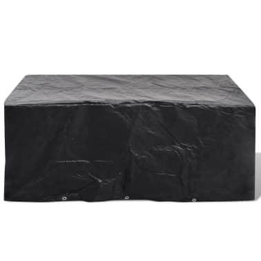 Telo di copertura per mobili polirattan con 10 occhielli 240 x 140 cm[2/5]