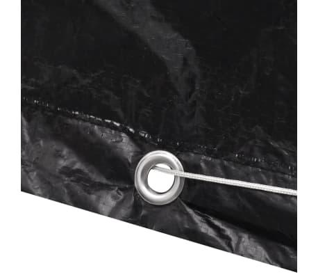 Telo di copertura per mobili polirattan con 10 occhielli 240 x 140 cm[4/5]