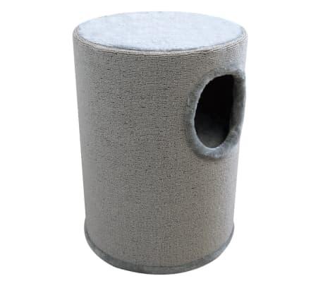 Kattenhuis/krabpaal grijs 50 cm